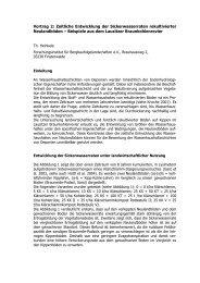 Vortrag - Leipziger Deponiefachtagungen