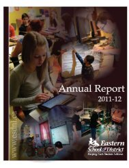 2011-12 Annual Report - Eastern School District