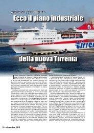 Ecco il piano industriale della nuova Tirrenia - Porto & diporto