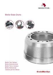 Meritor Brake Drums