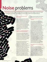 Noise problems - Biophysics and Biophysical Chemistry