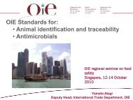 Animal identification and traceability - OIE Asia-Pacific