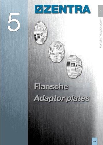 Flansche Adaptor plates