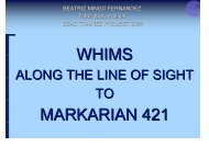 WHIMS MARKARIAN 421 - ESAC Trainee Project