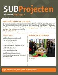 SUBprojecten 4#2 - BiSC
