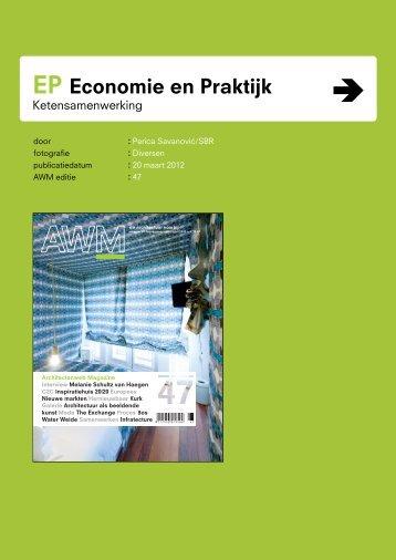 Ketensamenwerking als middel voor innovatie in de bouw ... - SBR