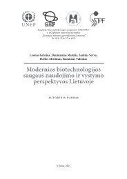 LT - Biotechnologijos institutas