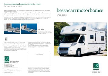 Bessacarr E700 (2007 Oct) - Swift Group