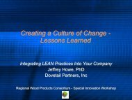 Creating a Culture of Change - Northern Forest Center