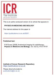 Anatomical imaging for radiotherapy