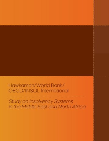 Study on Insolvency Systems in the Middle East and North Africa