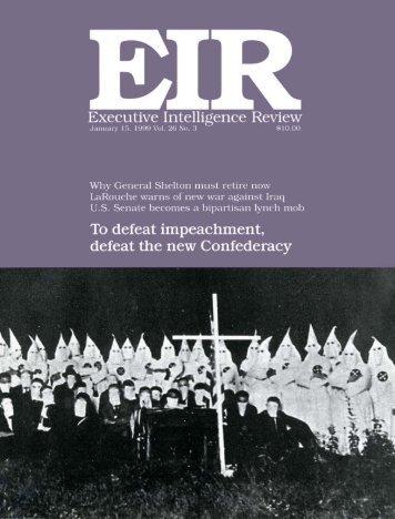 EIR Talks - Executive Intelligence Review