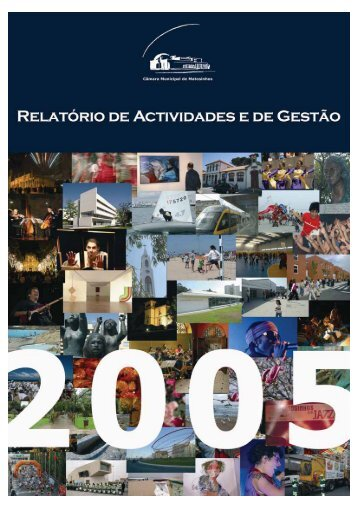 Relatório de Atividades e de Gestão 2005 - Câmara Municipal de ...