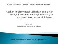 Judul Presentasi - Kebijakan Kesehatan Indonesia