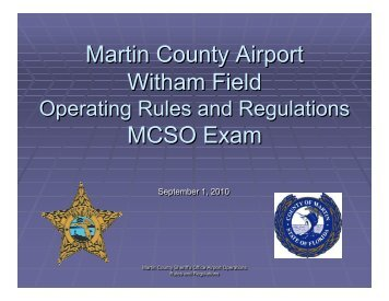 Airport Driver Training Exam FINAL 2010-09-01.pdf - Martin County ...