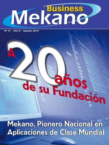 de su Fundación A - Mekano