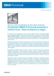 Fundación BBVA Provincial presenta a Carlos Cruz-Diez en blanco ...