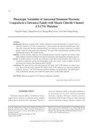 Phenotypic Variability of Autosomal Dominant Myotonia Congenita ...