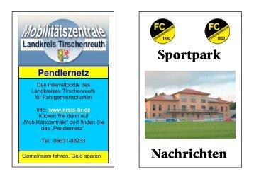 Sportpark Nachrichten - FC Tirschenreuth