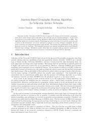 Junction-Based Geographic Routing Algorithm for Vehicular Ad-hoc ...