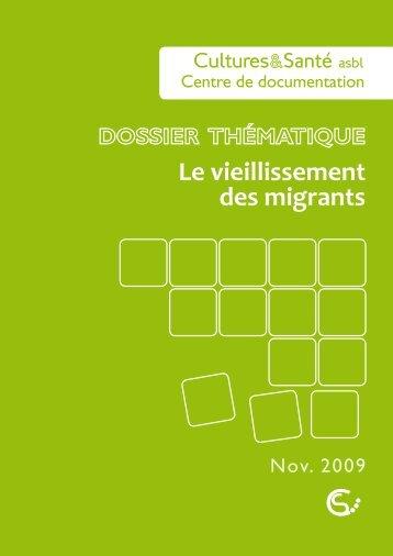 Le vieillissement des migrants - Medimmigrant