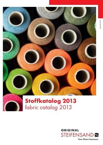 Stoffkatalog 2013 fabric catalog 2013