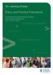 Policy and Practice Framework - Fife Council Education Centre