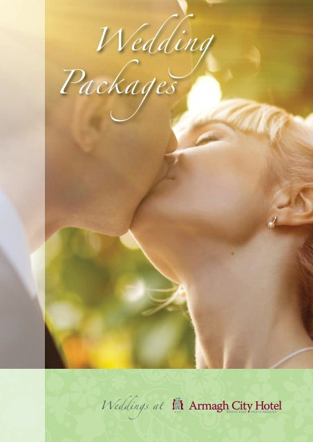Wedding Packages - Armagh City Hotel