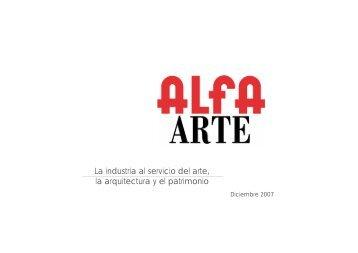 alfa arte E PÚBLICO