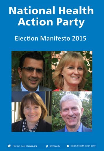 National-Health-Action-Party-Election-Manifesto-2015