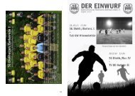 Spielerstatistik I.Herren Saison 2009/2010 - SV Hildesia  Diekholzen