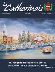 Le Catherinois - Ville de Sainte-Catherine-de-la-Jacques-Cartier