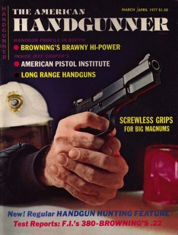 American Handgunner March/April 1977