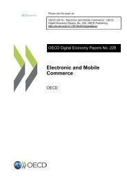 Electronic and Mobile Commerce - OECD iLibrary
