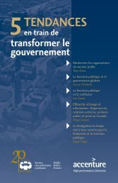 Rapport - Public Policy Forum