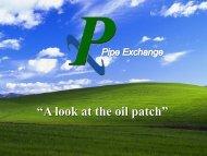 Dolty Cheramie, President, Pipe Exchange Ltd,