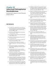 Ch. 50 Inherited Palmoplantar Keratodermas