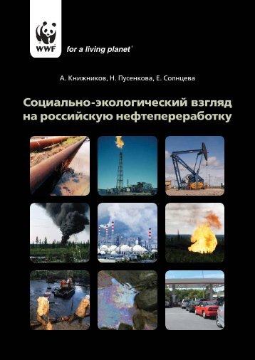 Социально-экологический взгляд на российскую ...