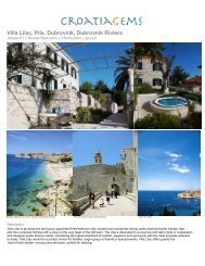 Villa Lilac, Pile, Dubrovnik, Dubrovnik Riviera - Croatia Gems