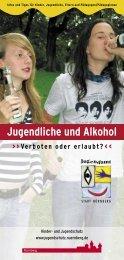 Jugendliche und Alkohol Verboten oder erlaubt? - Stadt Baiersdorf