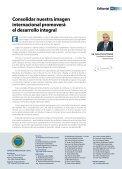 Entrevista a César Villanueva Buenas perspectivas turísticas - Page 3
