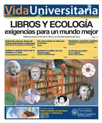 exigencias para un mundo mejor - Universidad Rafael Landívar