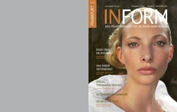 SPECIAL - INFORM  - Das Regionale  Frauenmagazin