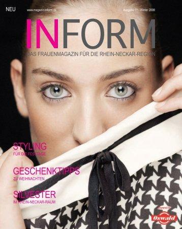 Femmes Fatales - INFORM - Das Regionale  Frauenmagazin