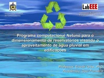 Metodologia para Construção do programa Netuno - Feevale