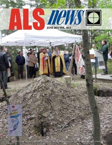 JUNE 2011 VOL. 40-2 - The Alberta Land Surveyors