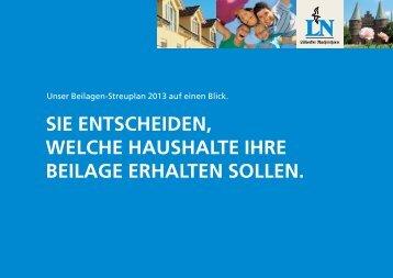 SIE ENTSCHEIDEN, WELCHE HAUSHALTE ... - LN-Medienhaus.de