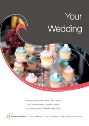 Your Wedding - Campus Central