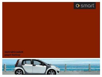 Instruktionsbok smart forfour - smart klub danmark