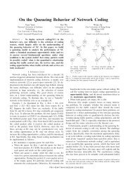On the Queueing Behavior of Network Coding - IEEE Xplore